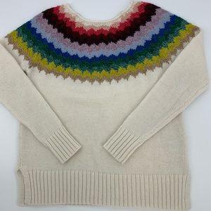 American Eagle Multi-color Sweater. Sz. L